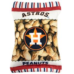 Houston Astros Peanut Bag Toy by Pets First