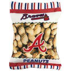 Atlanta Braves Peanut Bag Toy by Pets First