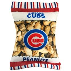 Chicago Cubs Peanut Bag Toy by Pets First