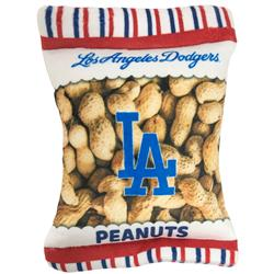Los Angeles Dodgers Peanut Bag Toy by Pets First