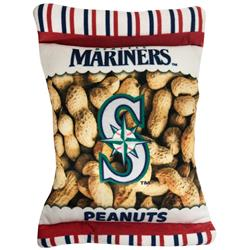 Seattle Mariners Peanut Bag Toy by Pets First