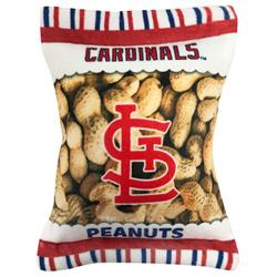 St. Louis Cardinals Peanut Bag Toy by Pets First