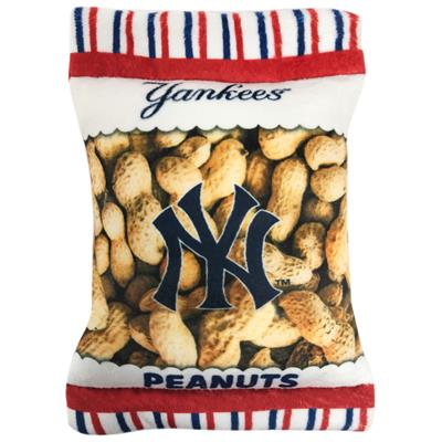 New York Yankees Peanut Bag Toy by Pets First