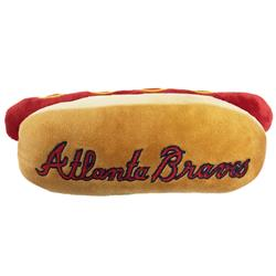 Atlanta Braves Hot Dog Toy by Pets First