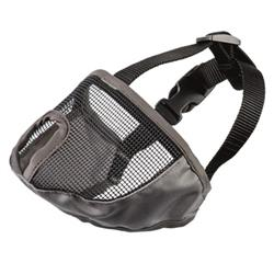 Short Nose Mesh Muzzle Large by Groom Professional