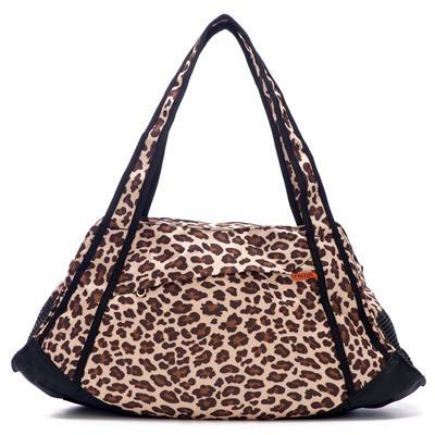 Prefer Pets Leopard Print Yoga Tote Pet Carrier