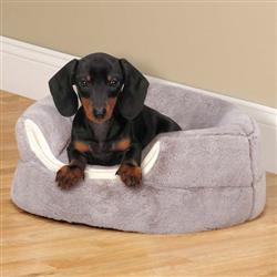 Slumber Pet Cuddler Bed, Gray