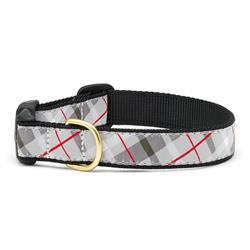 Grey Plaid Dog Collars, Leads, & Harnesses