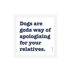 Apologizing For Your Relatives Vinyl Sticker