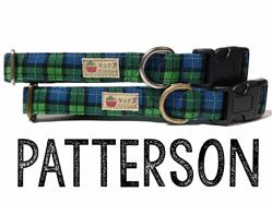 Patterson – Organic Cotton Collars & Leashes
