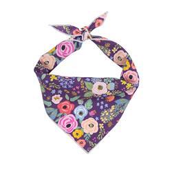 Flower Bandana, Floral Bandana, Spring Bandana, Tie Dog Bandana | Summer Bandana | Spring Bandanas