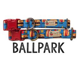 Ballpark – Organic Cotton Collars & Leashes