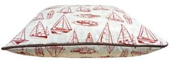 Bubba Bed- Red Sail Boat or Customize your Own