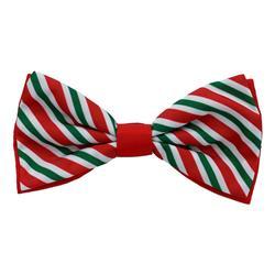 Peppermint Stripe Bow Tie by Huxley & Kent
