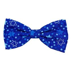 Hanukkah Stars & Dots Bow Tie by Huxley & Kent