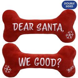 Dear Santa Bone (Double Sided) by Lulubelles Power Plush