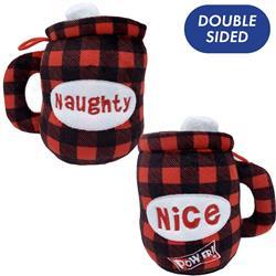 Naughty Nice Cocoa Mug (Double Sided) by Lulubelles Power Plush