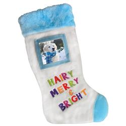 Merry & Bright Frame Stocking by Huxley & Kent