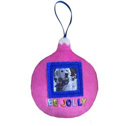 Be Jolly Ornament by Lulubelles