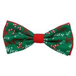 Naughty & Nice Bow Tie by Huxley & Kent