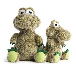 Fluffy Alligator Plush Toy with Fabtough - New for 2021