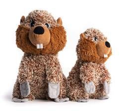 Fluffy Beaver Plush Toy with Fabtough - New for 2021
