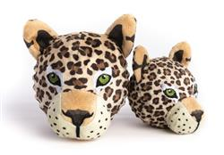 fabdog Leopard faball Squeaky Dog Toy - New for 2021