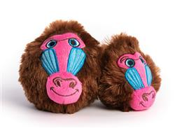 fabdog Baboon faball Squeaky Dog Toy - New for 2021