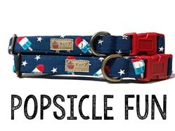 Popsicle Fun – Organic Cotton Collars & Leashes