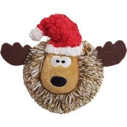 "4"" CHR EZ Reindeer Ball"