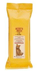 Burt's Bees Dander Reducing Wipes with Colloidal Oat Flour & Aloe Vera for Cats, 50 count