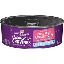 Stella & Chewys Cat Carnivore Cravings Pate Tuna 2.8oz. (Case of 24)