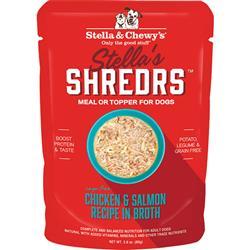 Stella & Chewys Dog Shredrs Chicken & Salmon 2.8oz. (Case of 24)