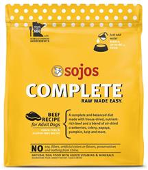 Sojo's Complete Dog Food Mix - Beef Recipe 7 lb.
