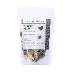 Turkey Chips, Freeze Dried Treats for Dogs & Cats, 3oz Bag