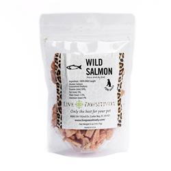 Wild Salmon, Freeze Dried Salmon Treats for Dogs & Cats, 5oz Bag