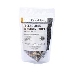 Freeze Dried Minnows, Treats for Dogs & Cats, 2oz Bag