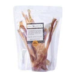 Beef Tendons, 100 % Natural Dog Chews, 6 per Bag