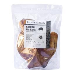 USA Natural Pig Ears,  4 Ears per Bag
