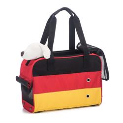Prefer Pets 909 Unity Tote Pet Carrier (Black, Red, Yellow)
