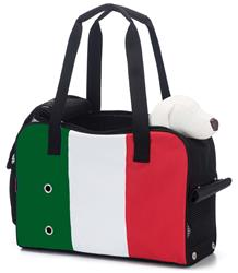 Prefer Pets 909 Unity Tote Pet Carrier (Green, White, Red)