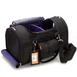 Prefer Pets 599XL-BK - Extra Large Black Privacy Pet Carrier
