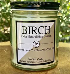 Birch 8oz. Odor Neutralizing Candle