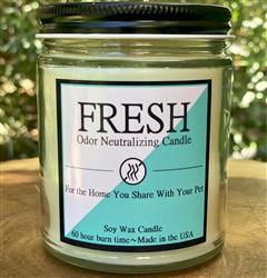 Fresh 8oz. Odor Neutralizing Candle