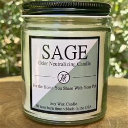 Sage 8oz. Odor Neutralizing Candle
