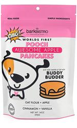 POOCH PANCAKES Awesome Apple with Oat flour + Apple + Cinnamon + Vanilla | 14oz. Mix