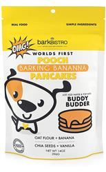 POOCH PANCAKES Barkin' Banana with Oat Flour + Banana + Chia Seeds + Vanilla | 14oz. Mix