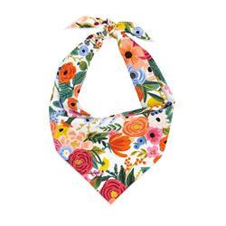 Flower Bandana, Floral Bandana, Spring Bandana, Tie Dog Bandana | Summer Bandana | Peony