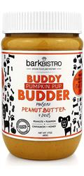 BUDDY BUDDER Pumpkin Pup - Unsalted Peanuts + Pumpkin + Cinnamon + Honey | 17oz. Jar