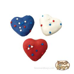 USA Mini Hearts, 60/Case, Dog Bless America, MSRP $0.99 - $1.25